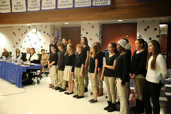 Schmucker Circle the State Choir