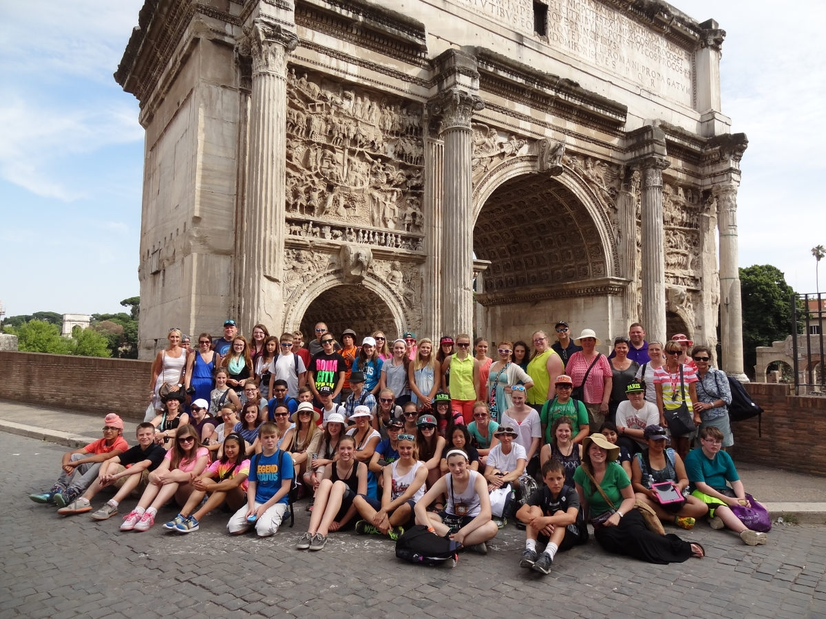 PHM students on Europe trip summer 2014