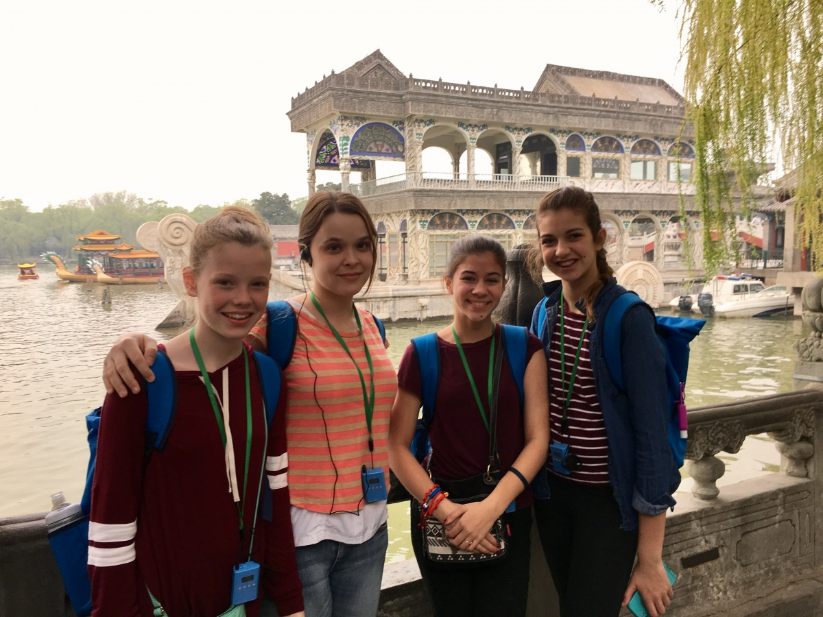 PHM Middle School Trip to China spring 2017