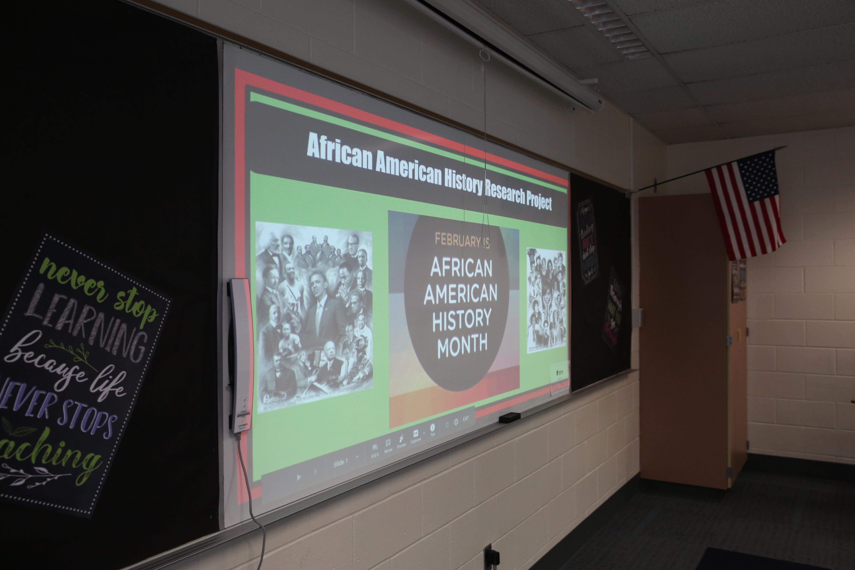 Black History Month Slide