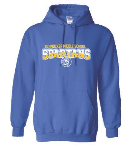 Spartan sweatshirt