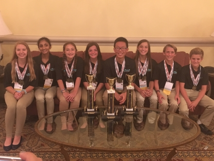 Schmucker TEAMS finishes Top 3 in Nation!