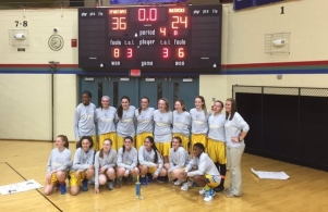 8th Grade Girls Basketball Big 11 Champs