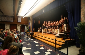 7th Grade Boys Choir Winter Concert, Dec. 5, 2016
