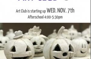 Art Club Flyer