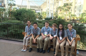 Schmucker students enjoyed time in Nashville where they competed at the National TSA Conference.