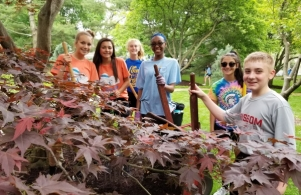 NJHS Service Project 2018-05-18 pic 2