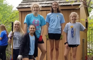 NJHS Service Project 2018-05-18 pic 4