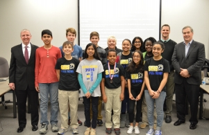 2015 State Spell Bowl Champs are honored at Dec. 8 School Board Meeting